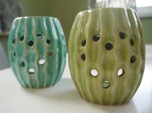Round Ceramic Sea Urchin Wax / Oil Burner