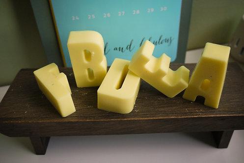 Custom 'Choose your Letters' Wax Melt