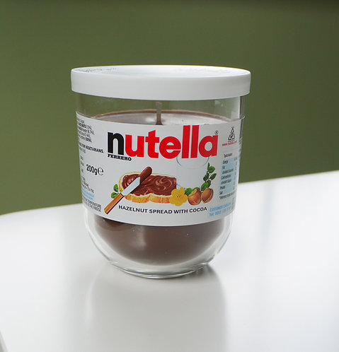 Chocolate Scented Soy Wax Candle Nutella Inspired (x3)