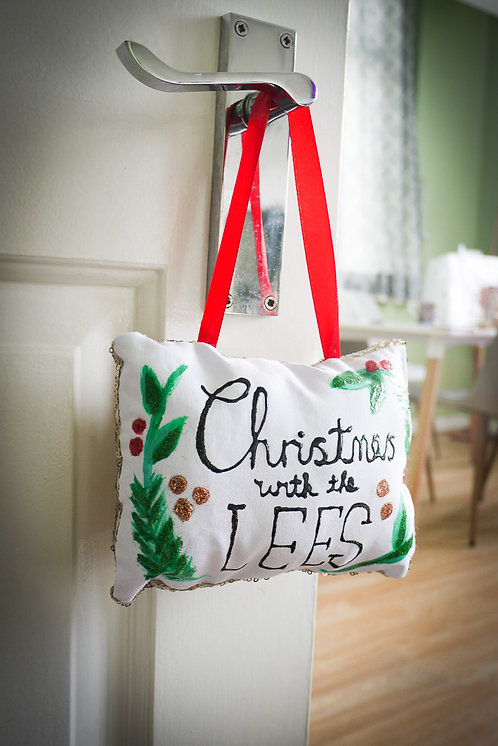 Custom Christmas Decoration - Handmade and Painted