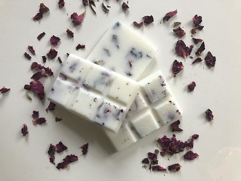 Rose Botanical Soy Wax Melt Snap Bars - Vegan Friendly