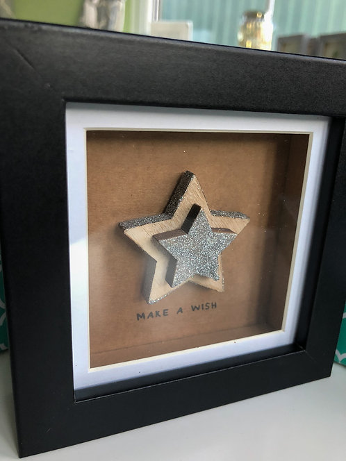 Mini Crafted Frame - Make a wish