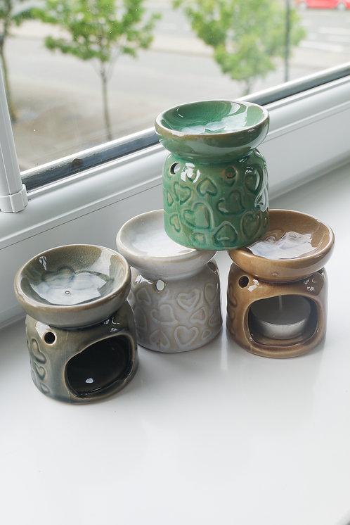Mini Hearts Ceramic Wax / Oil Burner