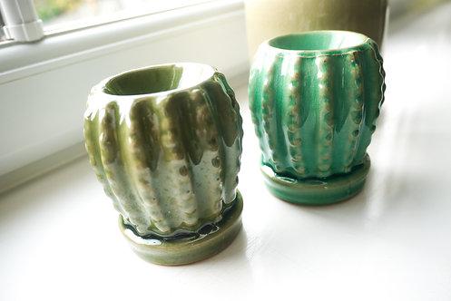 Mini Cactus Ceramic Wax / Oil Burner