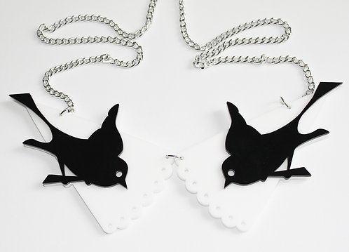 Swallow Collar Necklace