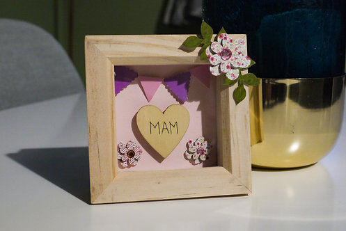 Mini Custom Frame - Mother's Day / Best Friend / Name