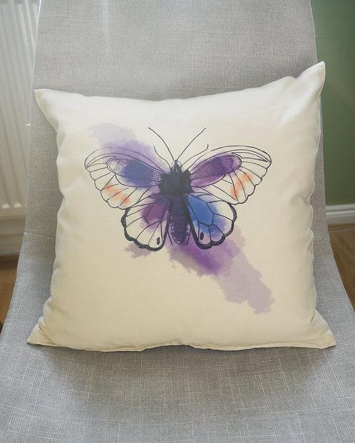 Butterfly - handmade cushion