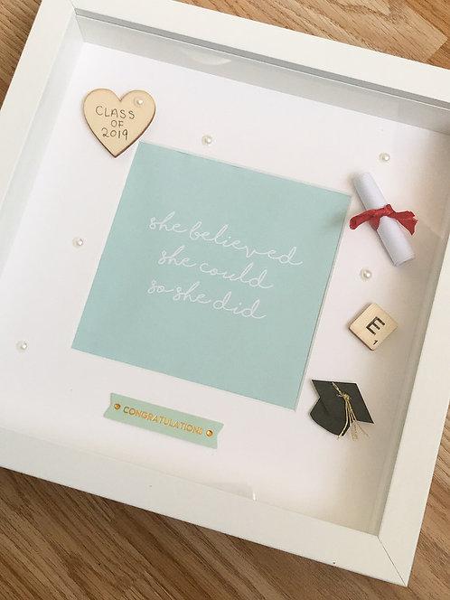 Graduation Frame - Custom - Handcrafted