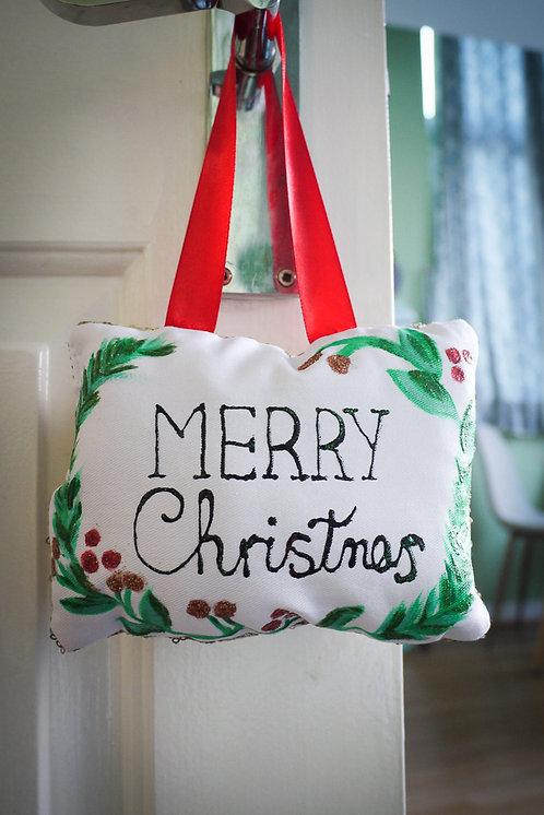 Christmas Handmade Decoration - Merry Christmas