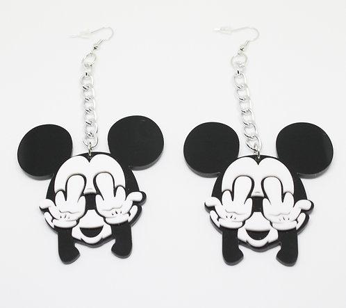 Cheeky Mouse Earrings