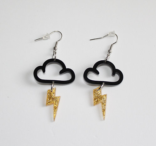 Storm Cloud Earrings