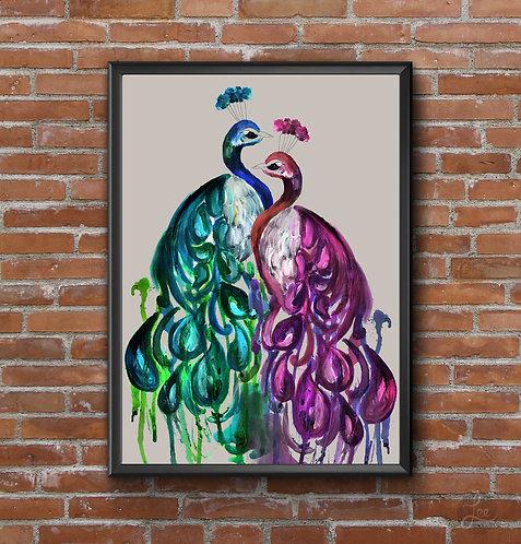 Peacock Bejeweled