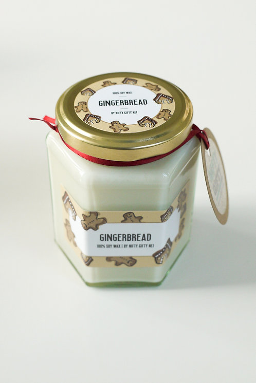 Gingerbread scented - Christmas Soy Wax candle
