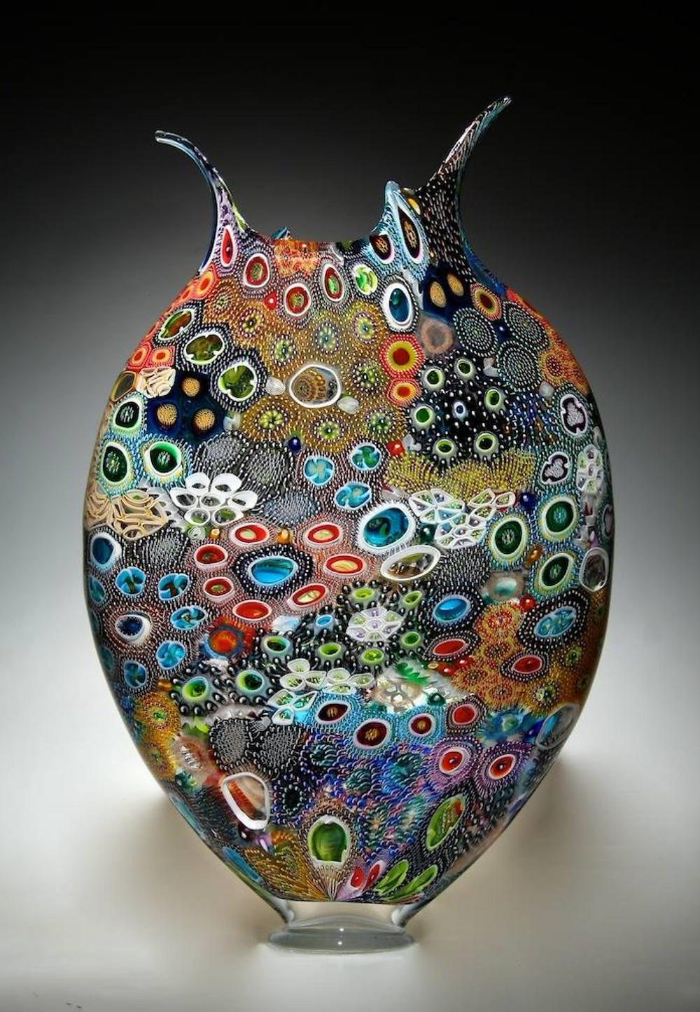 david patchen art glass foglio series