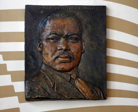 Custom-made Martin Luther King, Jr. MLK Bronze Plaque