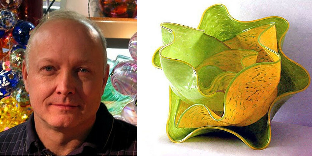John Burchetta glass artist biography