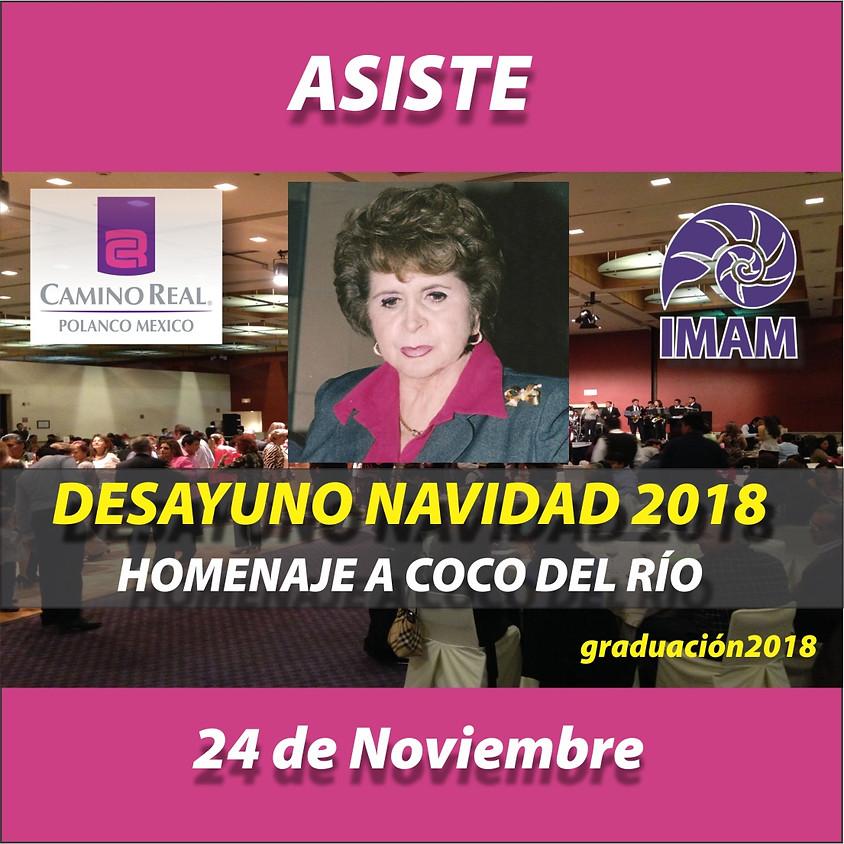 DESAYUNO NAVIDAD 2018 HOMENAJE A COCO