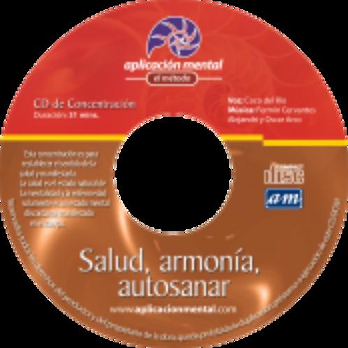 Salud, Armonía y autosanar CD físico