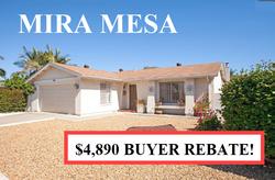 Buyer Rebate San Diego Savings Mira Mesa