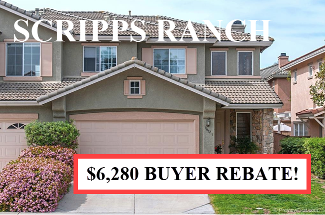 Buyer Rebate San Diego Savings SCRIPPS R