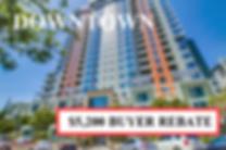 Buyer Rebate San Diego Savings DOWNTOWN.