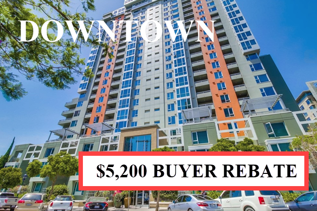 Buyer Rebate San Diego Savings DOWNTOWN.