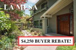 Buyer Rebate San Diego Savings La Mesa