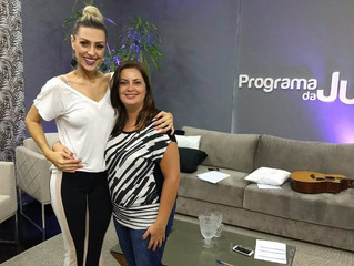 Entrevista no Programa da Jú – TV Maringá Band - 10/11/2017