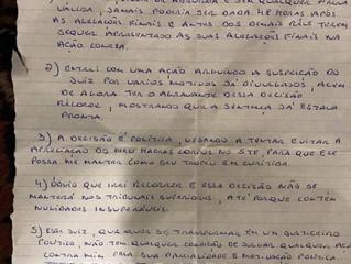 Análise da Escrita de Eduardo Cunha