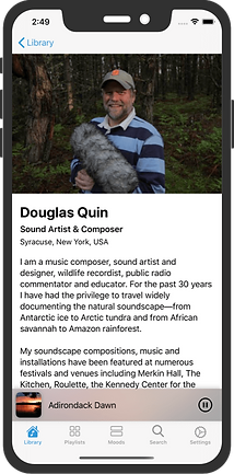 Meet inspiring soundscape artists.