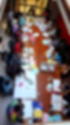 Community photo collage workshop