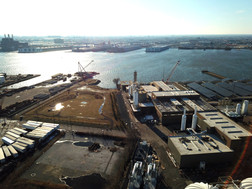 Waterfront South - Drone shot