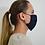 Thumbnail: Navy Reusable Organic Cotton Face Mask