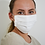 Thumbnail: White Reusable Organic Cotton Face Mask