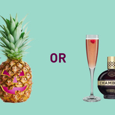 Le fruity or le freaky this eve? BOF! The Chambord Royale treats even the scariest of monsters.