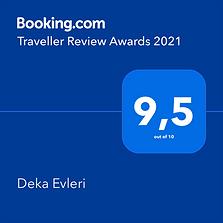 Deka Evleri Booking Awards 2021