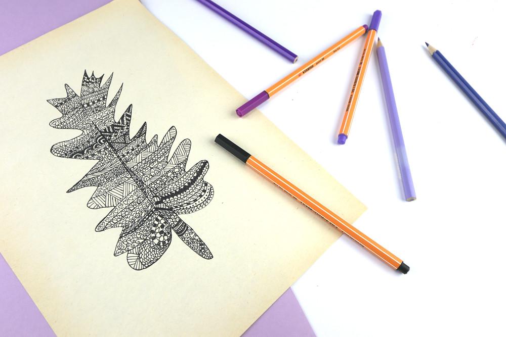 ako kresliť doodle