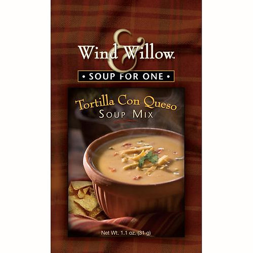 Tortilla Con Queso Soup Mix for One