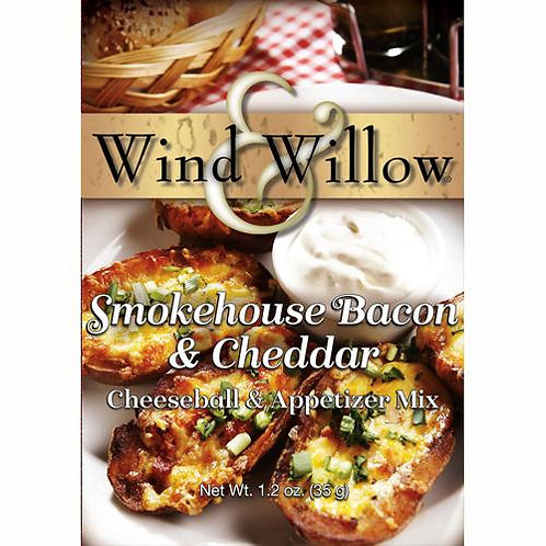 Smokehouse Bacon & Cheddar Cheeseball& Appetizer Mix