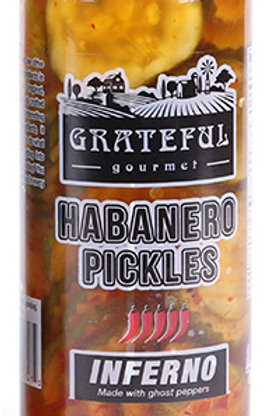 Habanero Pickles Inferno