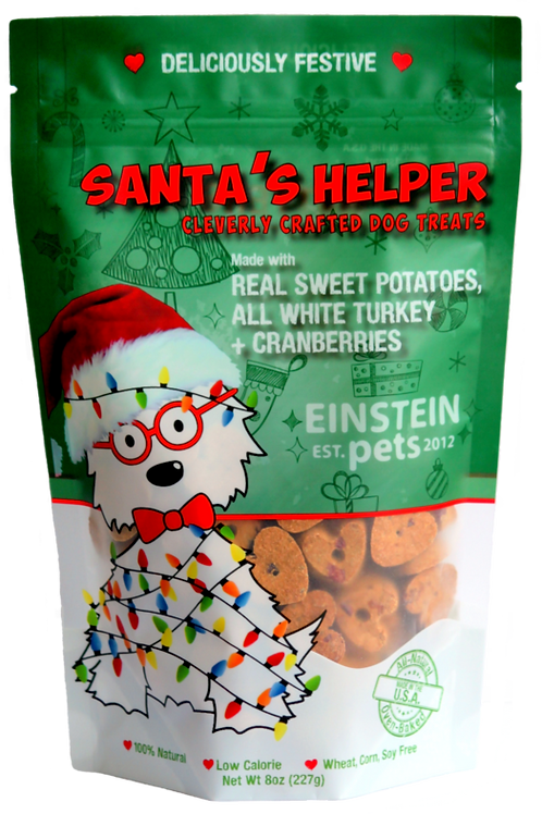 Einstein Pets Santa's Helper