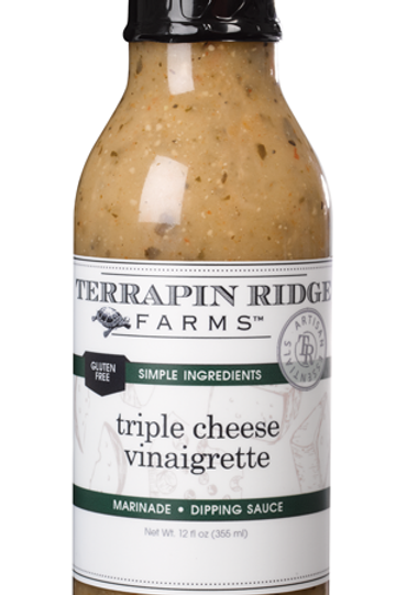 Triple Cheese Vinaigrette