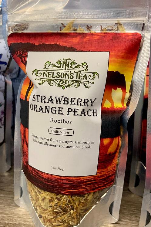 Strawberry Orange Peach Tea