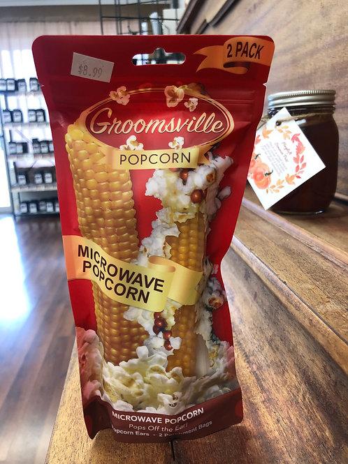 Groomsville Microwave Popcorn Ear (2 pack)
