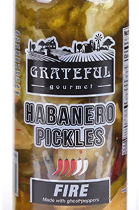 Habanero Pickles Fire