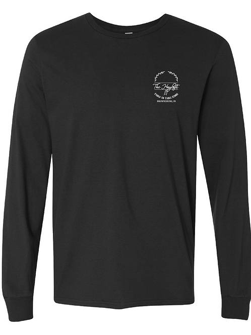 Black Hayloft Long Sleeve