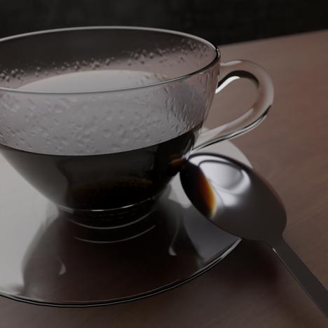 Coffee Cup Render