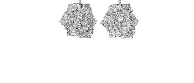 PIAGET Earrings Crystal Pt950