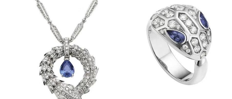 BVLGARI  Necklace Crystal Au920