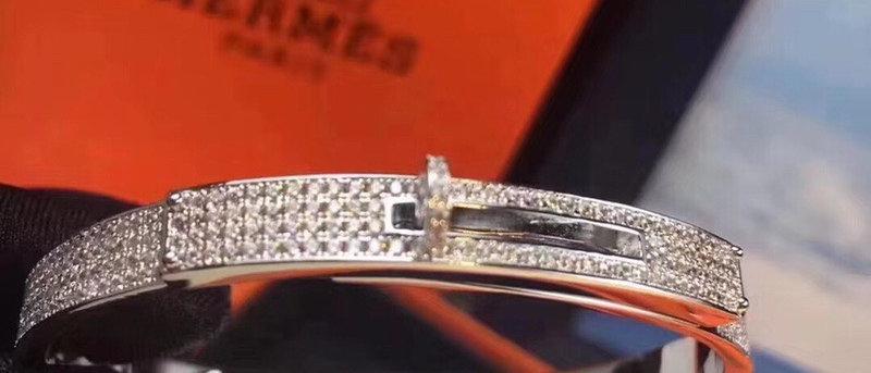 HERMES Bracelet 925Silver